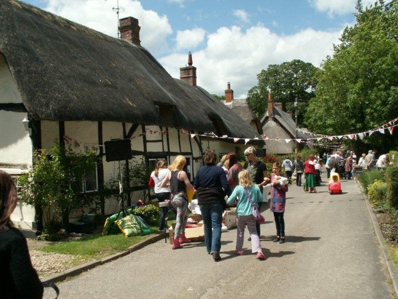 Wherwell - Annual Fete in Church Street