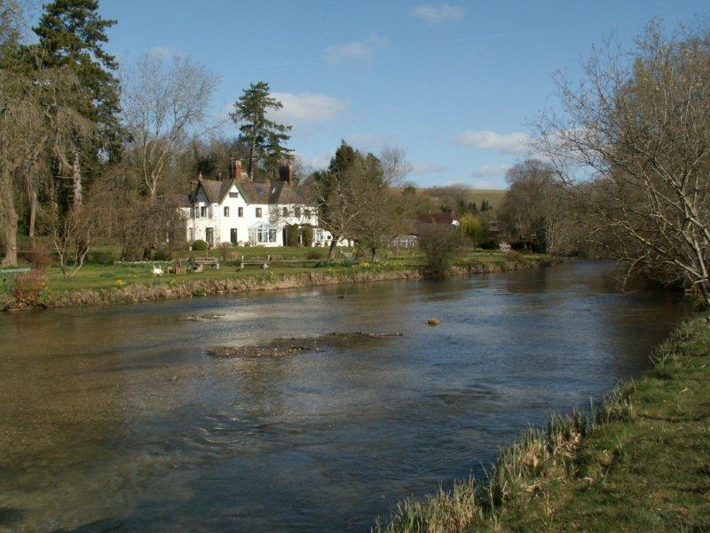 Wherwell - Freelands and River Test
